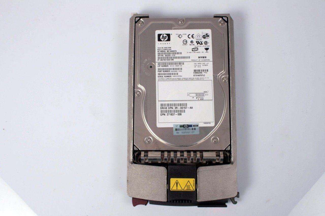 HP 146.8GB 360205-013 10k U320 80pin Hard Drive BD14688278 271837-006