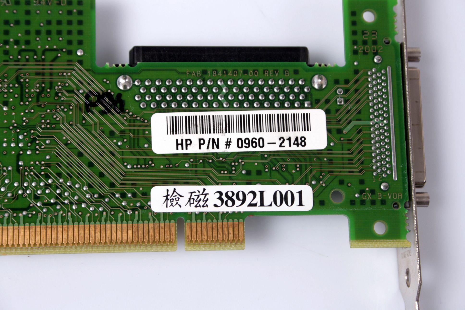 Adaptec ASC-29160LP U160 Ultra160 SCSI RAID Card Controller 3892L001