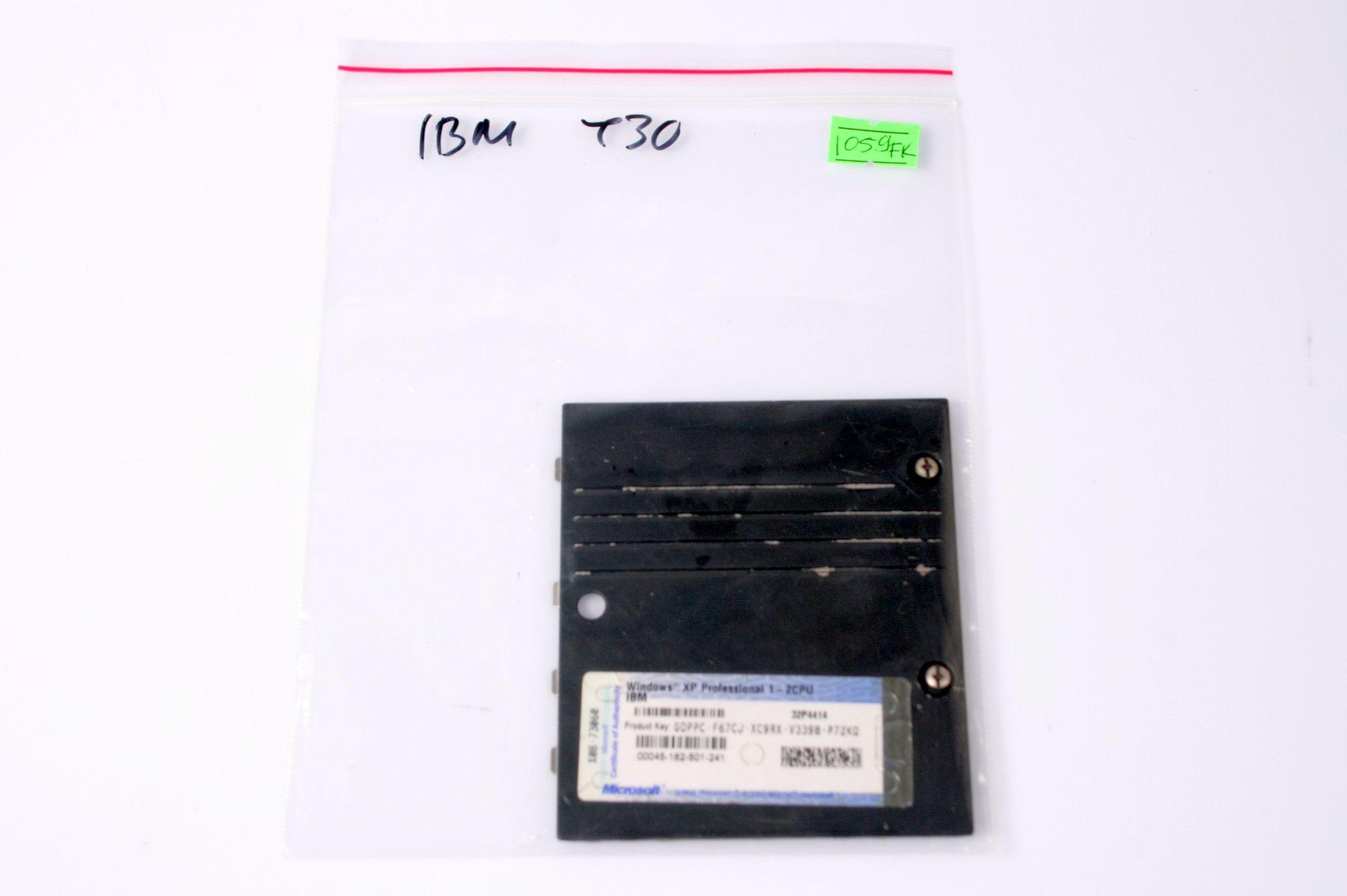 IBM T30 Laptop Wireless Modem Cover 46L4775 91P8911