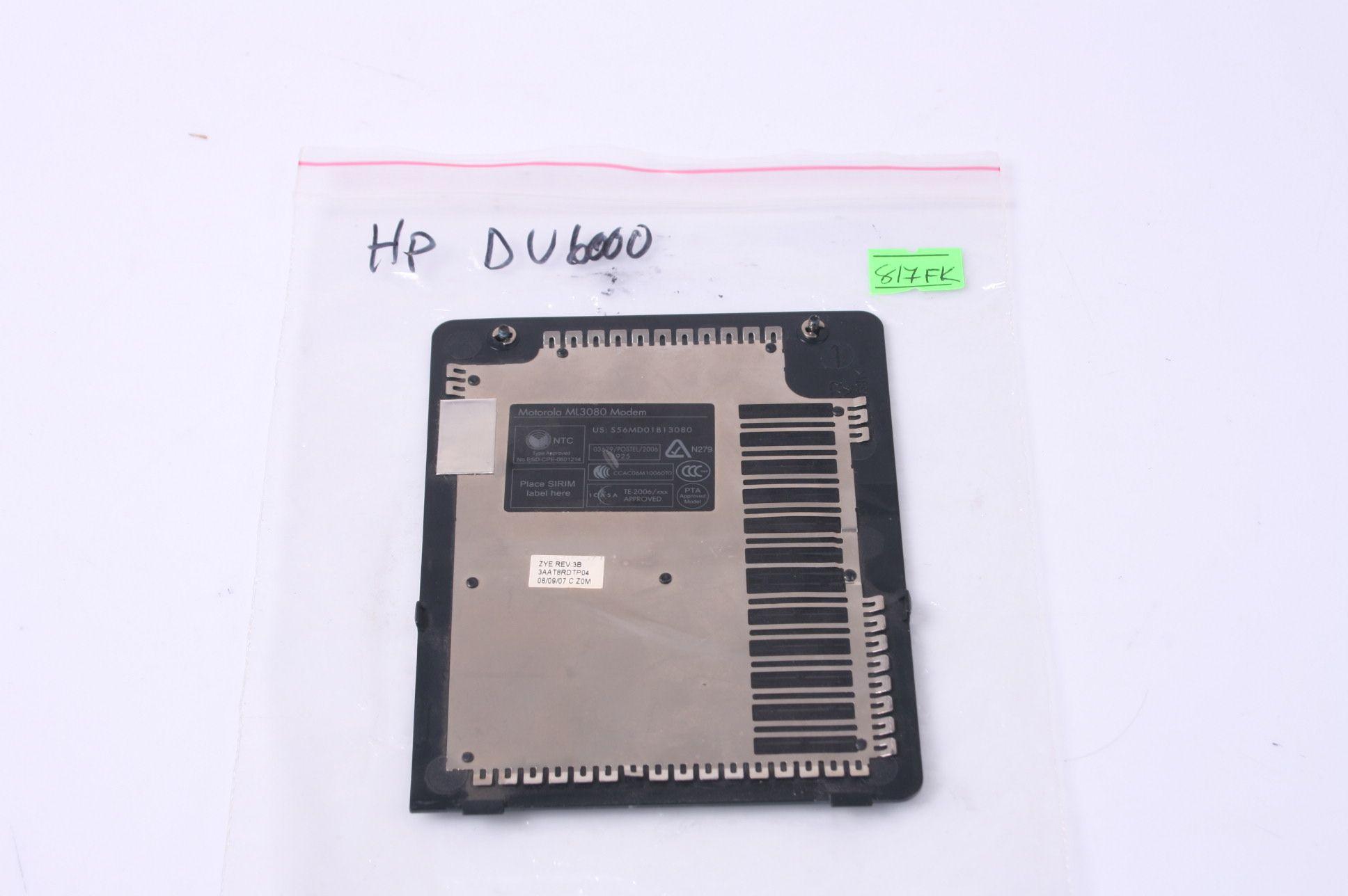 HP Pavilion DV6000 DV6500 DV6700 Memory WiFi Cover Door 3AAT8RDTP04