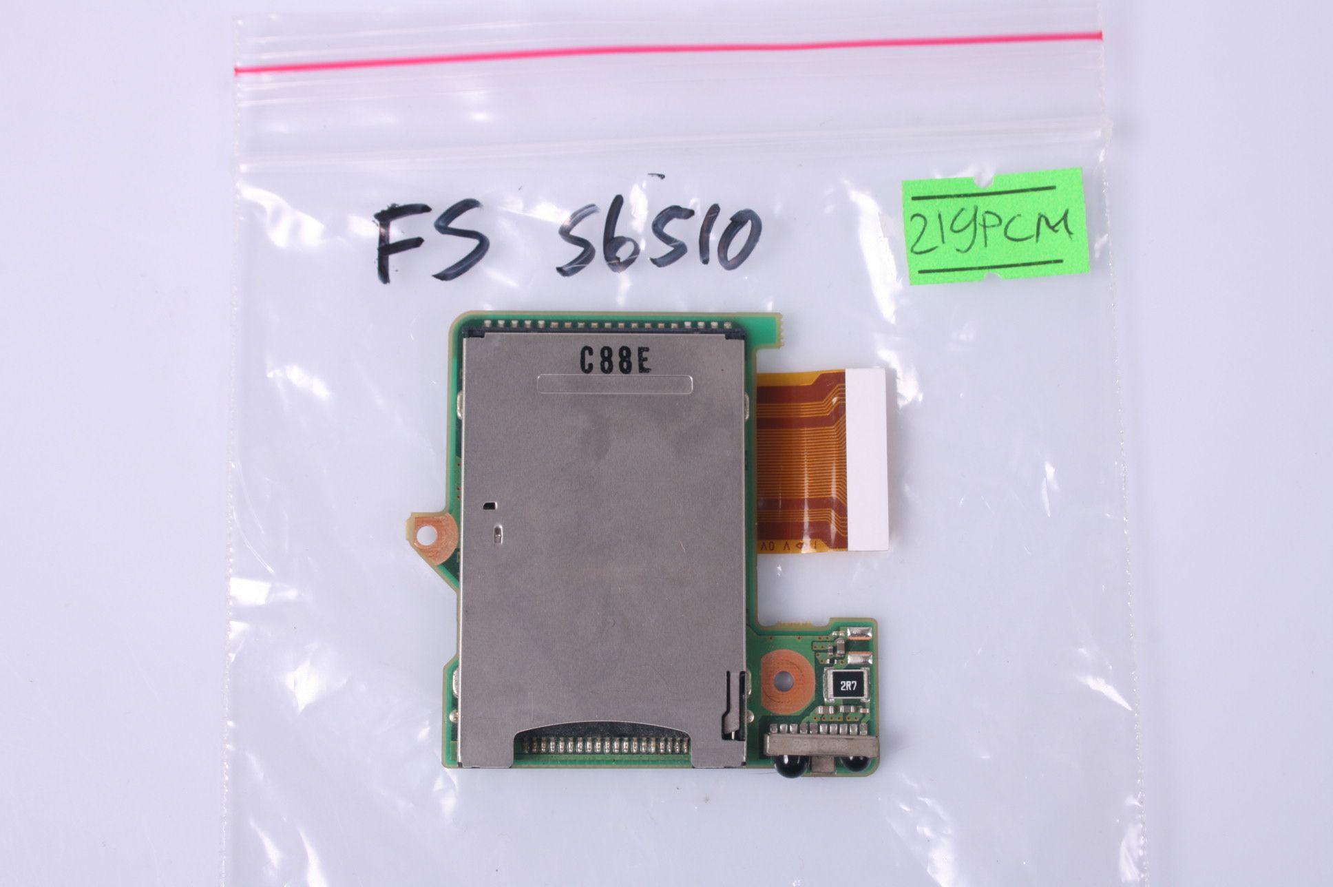Fujitsu S6510 Memory Card Reader & Infrared /W Cable CP358675-X3