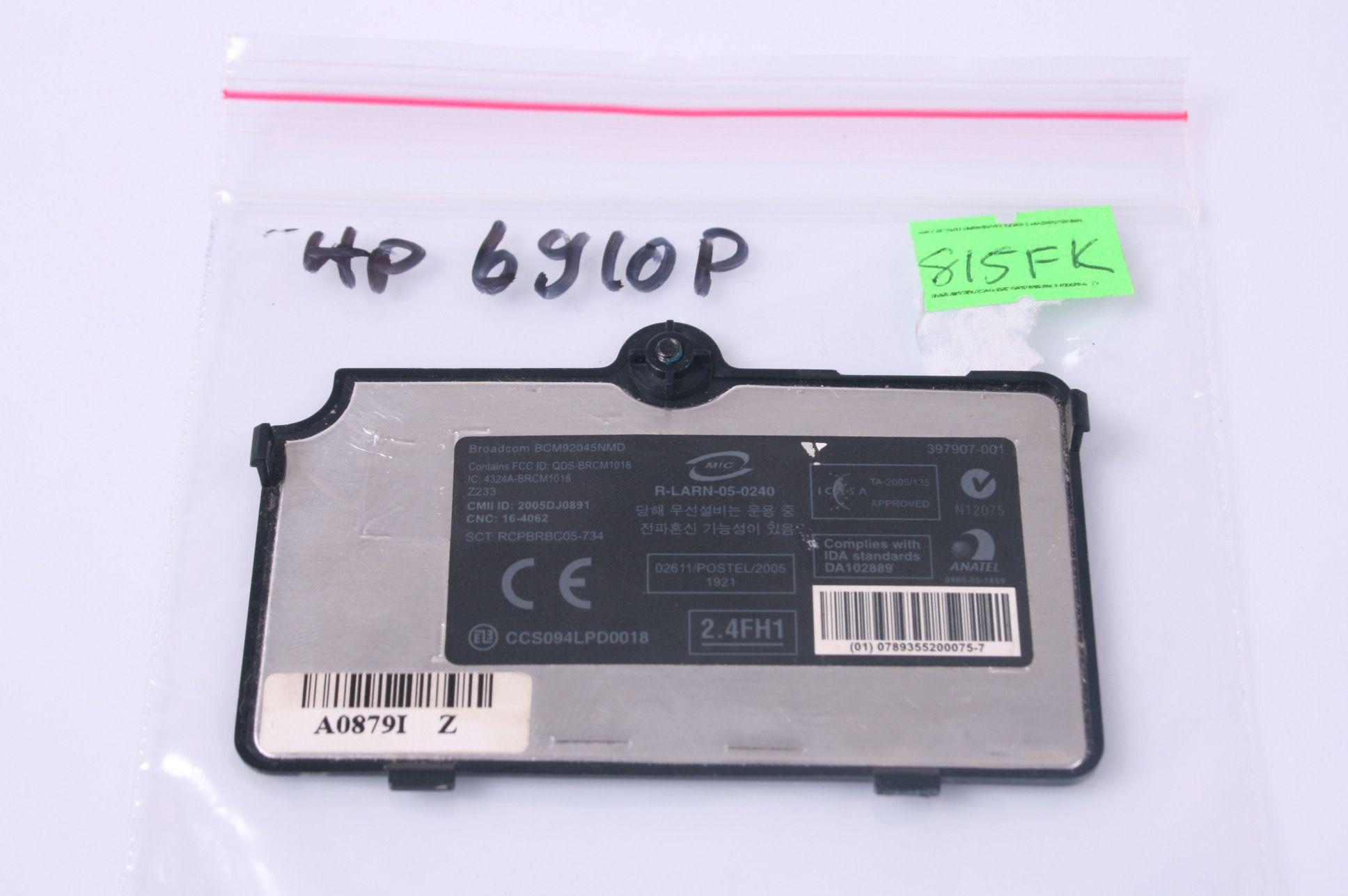 HP COMPAQ 6910P Memory Cover 397907-001
