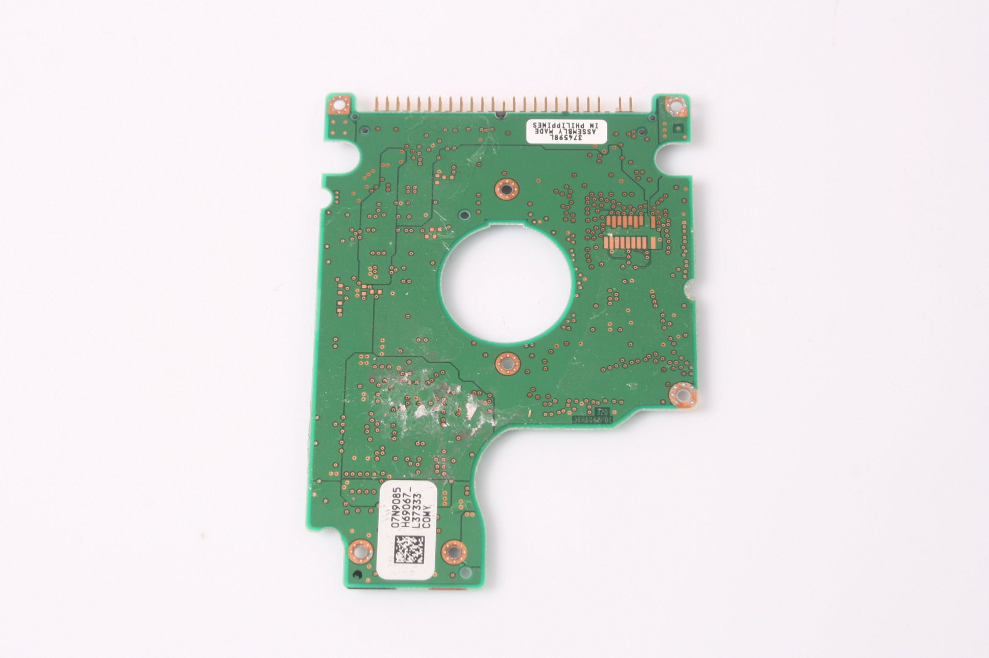 HITACHI IC25N040ATCS04-0 40GB 2.5 IDE HARD DRIVE / PCB (CIRCUIT BOARD) ONLY FO