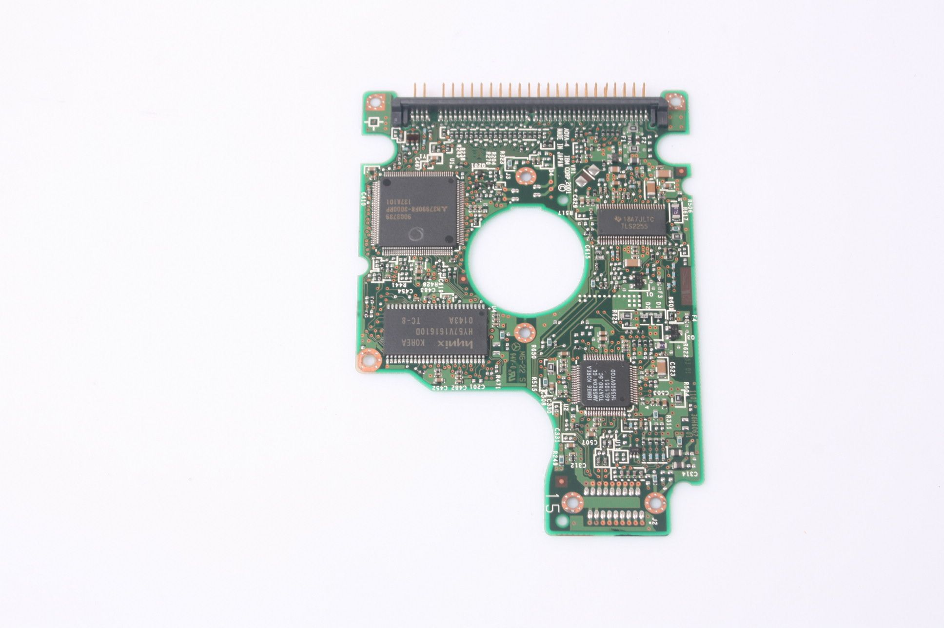HITACHI HTS424040M9AT00 40GB 2.5 IDE HARD DRIVE / PCB (CIRCUIT BOARD) ONLY FOR DA