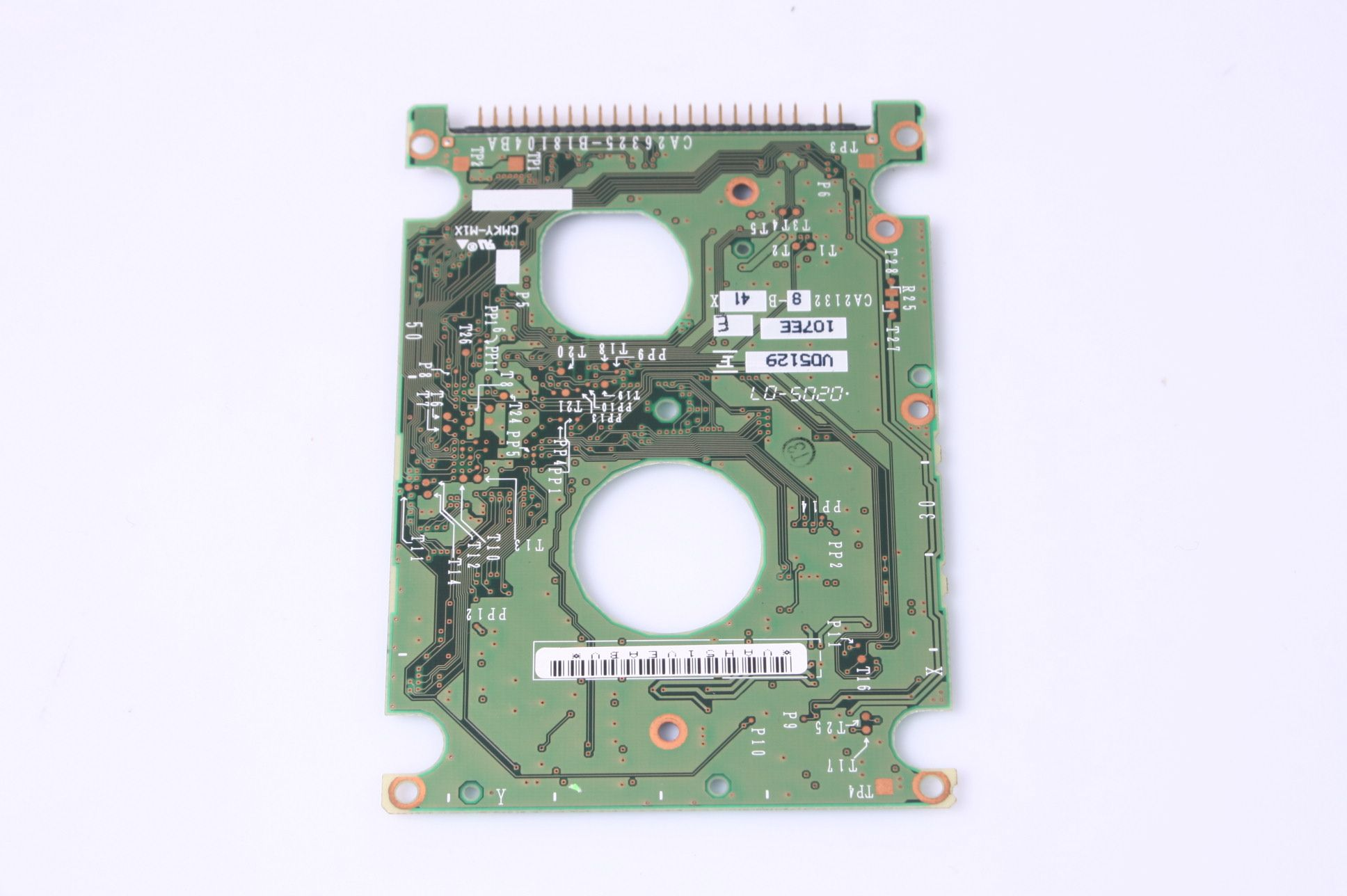 FUJITSU MHT2040AH 40GB 2.5 IDE HARD DRIVE / PCB (CIRCUIT BOARD) ONLY FOR DA