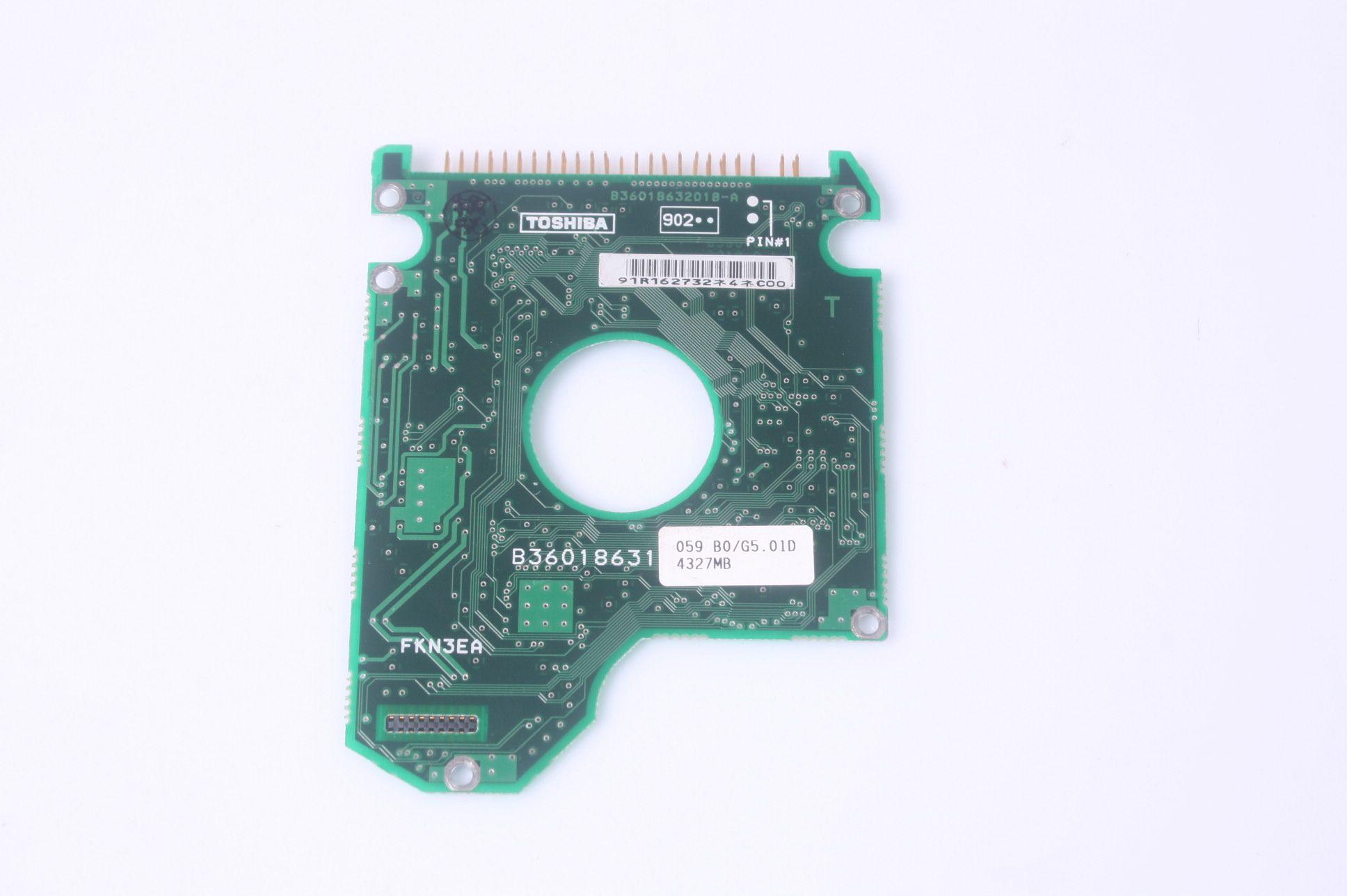 TOSHIBA MK4309MAT 4.3 GB 2.5 IDE HARD DRIVE / PCB (CIRCUIT BOARD) ONLY FOR DA