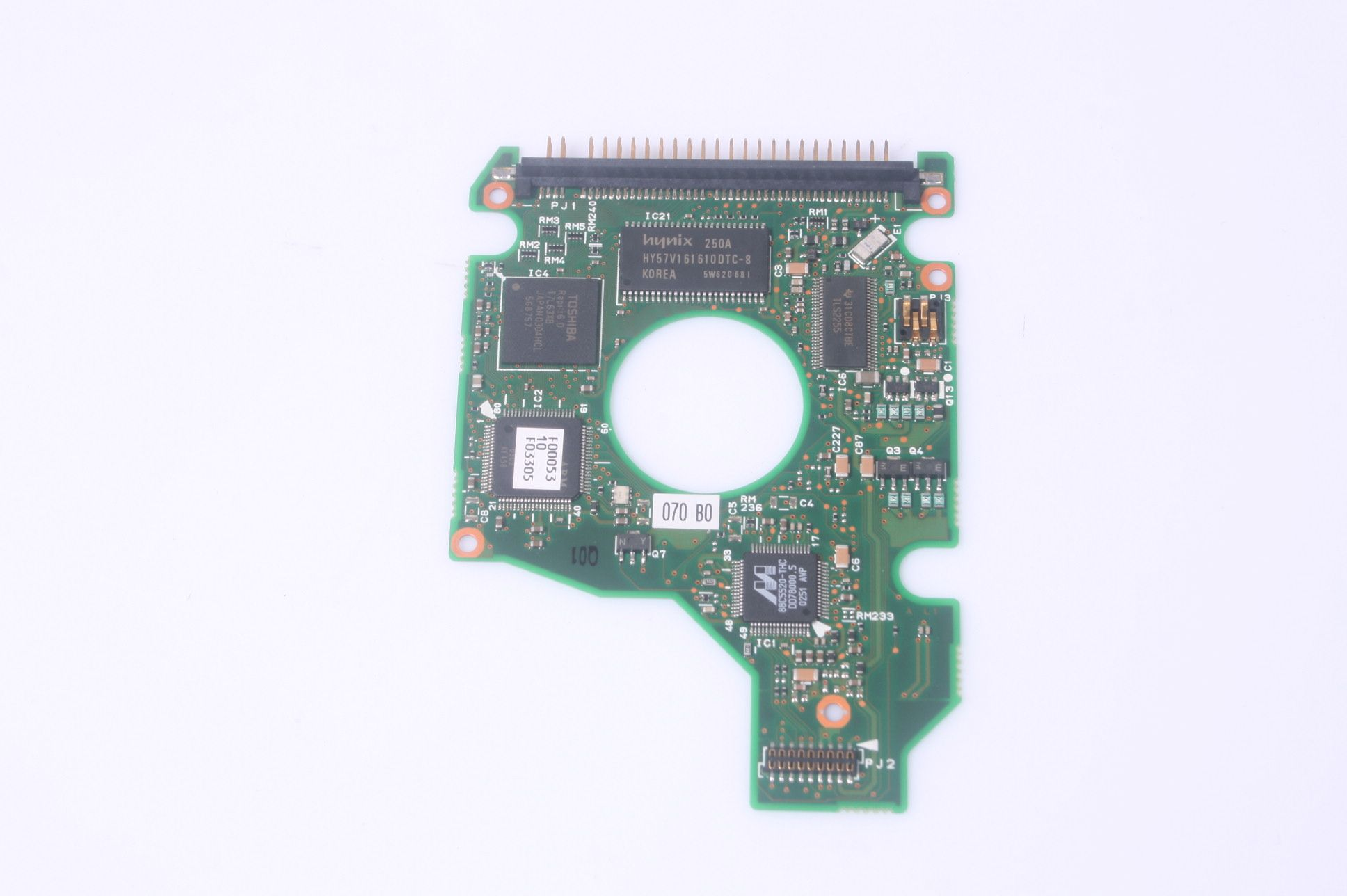 Toshiba MK2018GAS 20GB 2.5 IDE HARD DRIVE / PCB (CIRCUIT BOARD) ONLY FOR DA