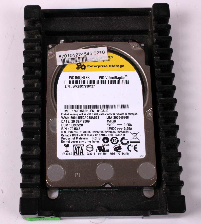 WD Velociraptor WD1500HLFS 150GB 10K RPM 3.5