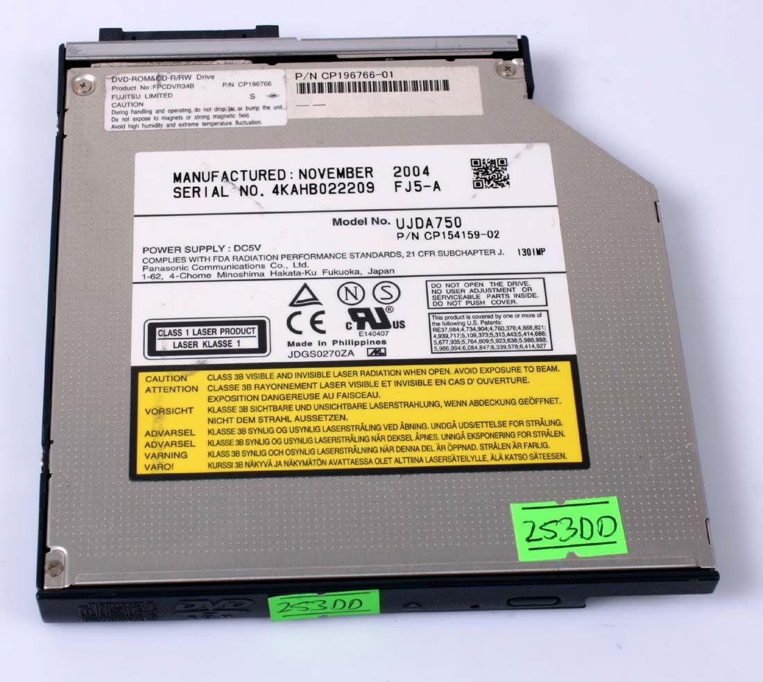 FUJITSU Lifebook S7010 S7110 Optical Drive DVD-ROM CP196766-01 CP154159-02
