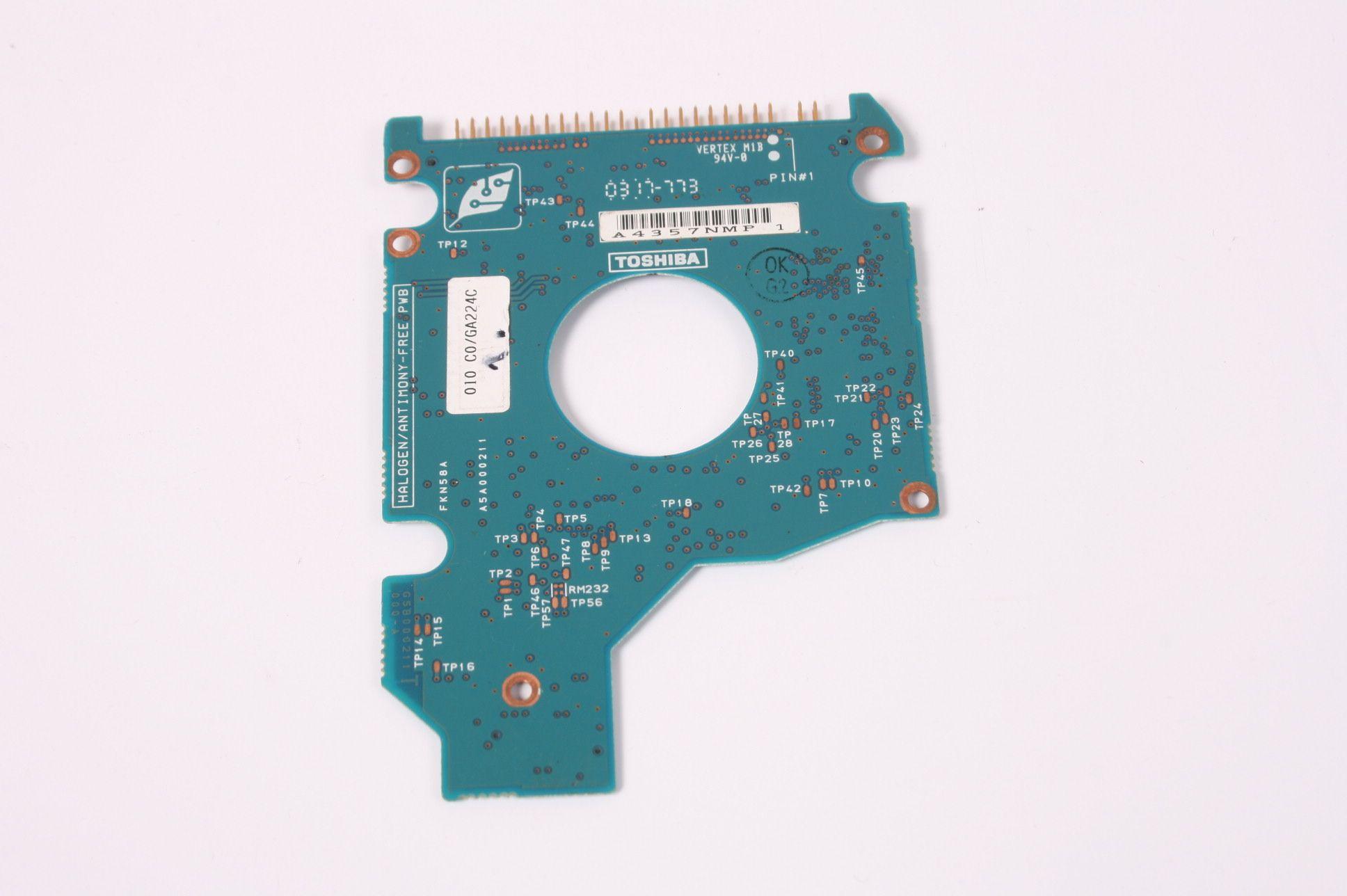 TOSHIBA MK4021GAS 40GB 2.5 IDE HARD DRIVE / PCB (CIRCUIT BOARD) ONLY FOR DA