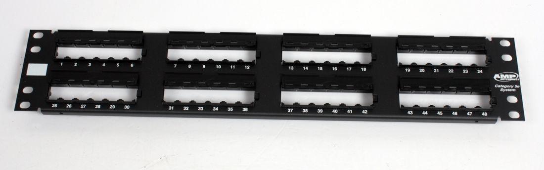 BRAND NEW COMMSCOPE Modular Patch Panel 48-port 1479155-2 / RJ45