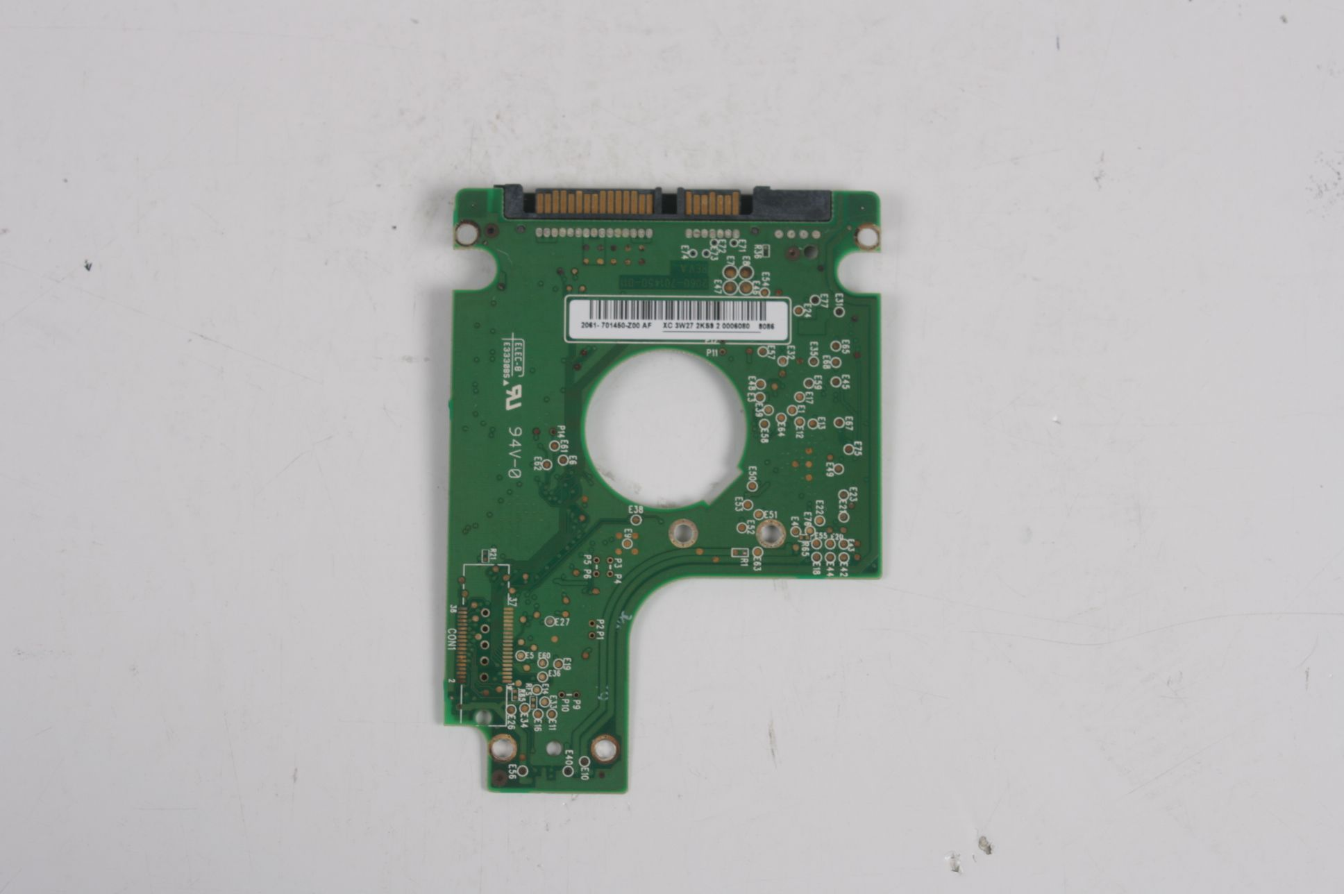 WD WD1600BEVS-22RST0 160GB SATA 2,5 HARD DRIVE / PCB (CIRCUIT BOARD) ONLY FOR DATA