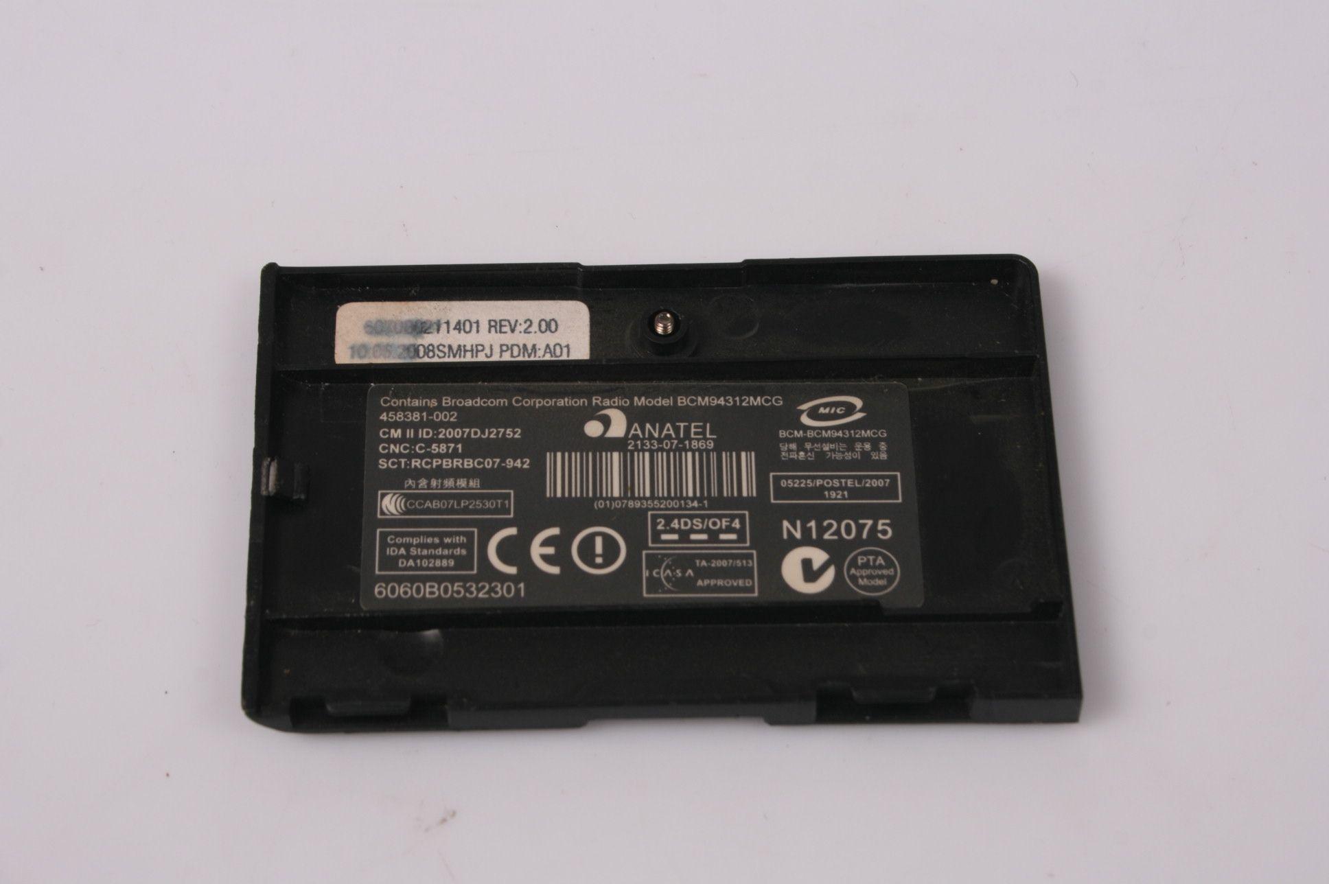 HP Compaq 6720S Wireless Cover 6060B0532301