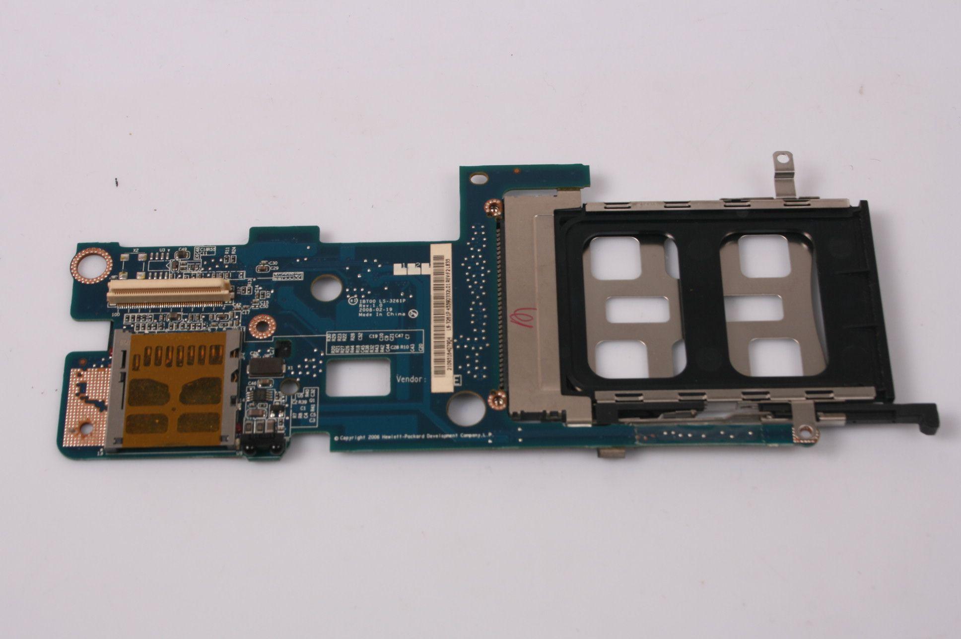 HP Compaq 6910P PCMCIA Cage Board 446437-001