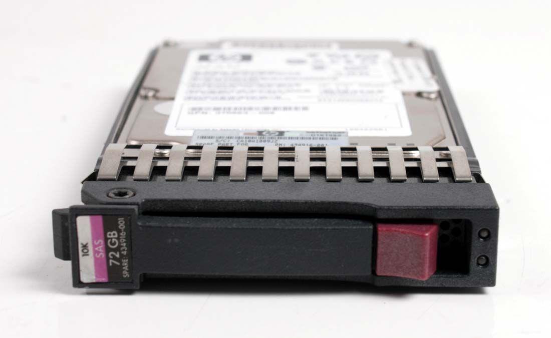 HP 72GB 10K SAS 2,5
