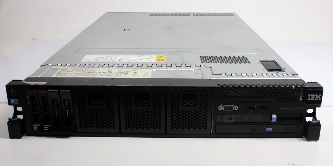 IBM SYSTEM X3650 M2 Server 2 x Intel Xeon X5570 2.93Ghz. CPU + 8GB Ram