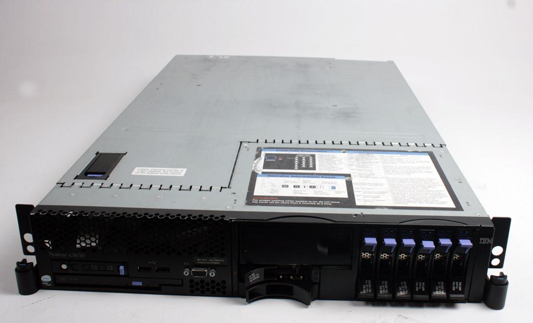 IBM SYSTEM X3650 M1 Server 2 x Intel Xeon E5440 2.13Ghz. CPU + 4GB Ram