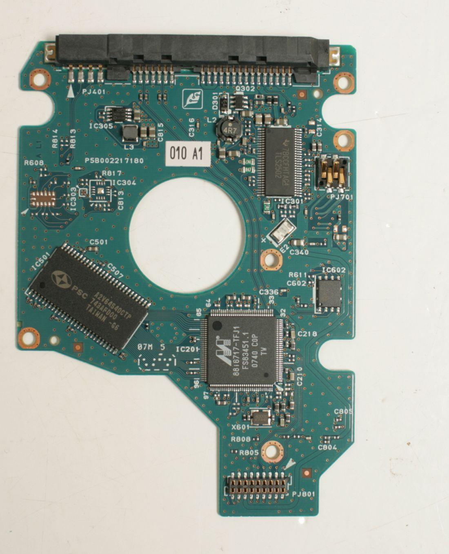 TOSHIBA MK1246GSX 120GB 2,5 SATA HARD DRIVE / PCB (CIRCUIT BOARD) ONLY FOR DATA