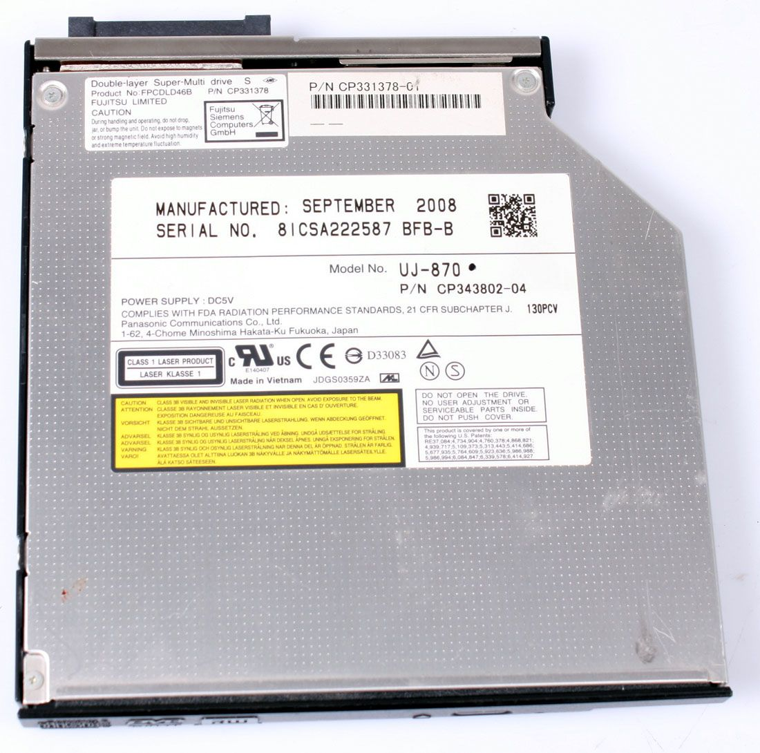FUJITSU Celcius H250 Optical Drive DVD-ROM CP331378-01
