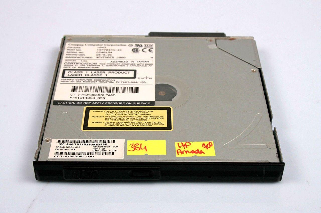 HP Compaq Armada 700 CD ROM-24X 315082-002