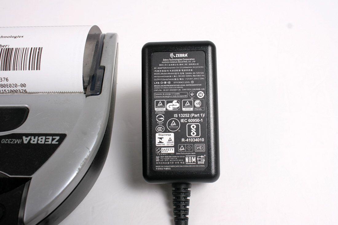 Zebra iMZ320 (M3I-0UB0E020-00) Mobile Thermal BLUETOOTH Printer IOS-ANDROID