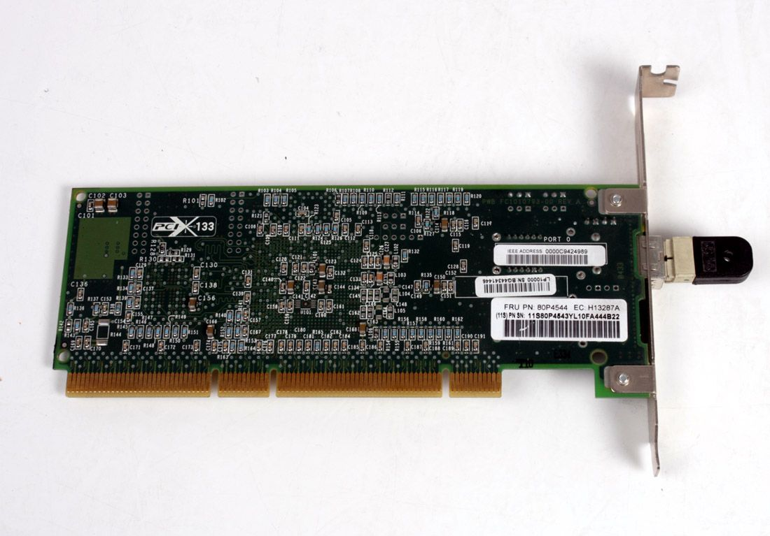 IBM 2Gbps PCI-X LC Fibre Channel 1-Port Adapter 80P4544