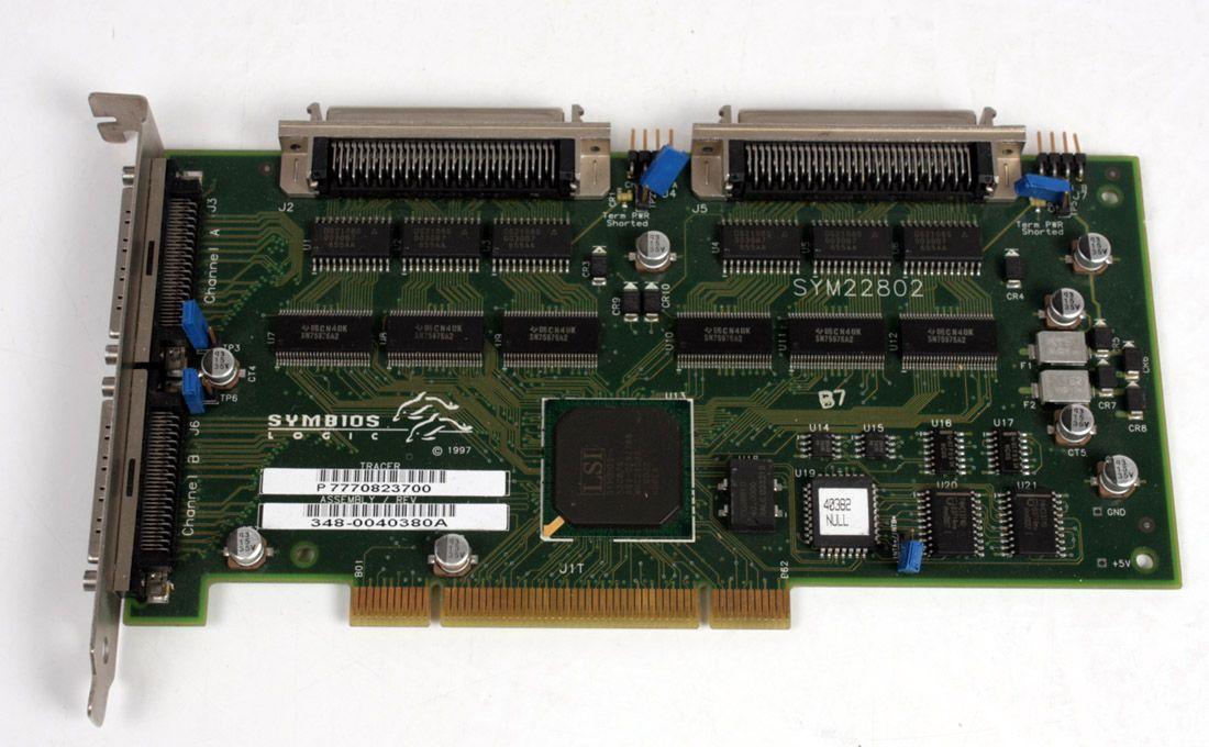 Compaq UltraSCSI High Voltage Differential SCSI 161291-001