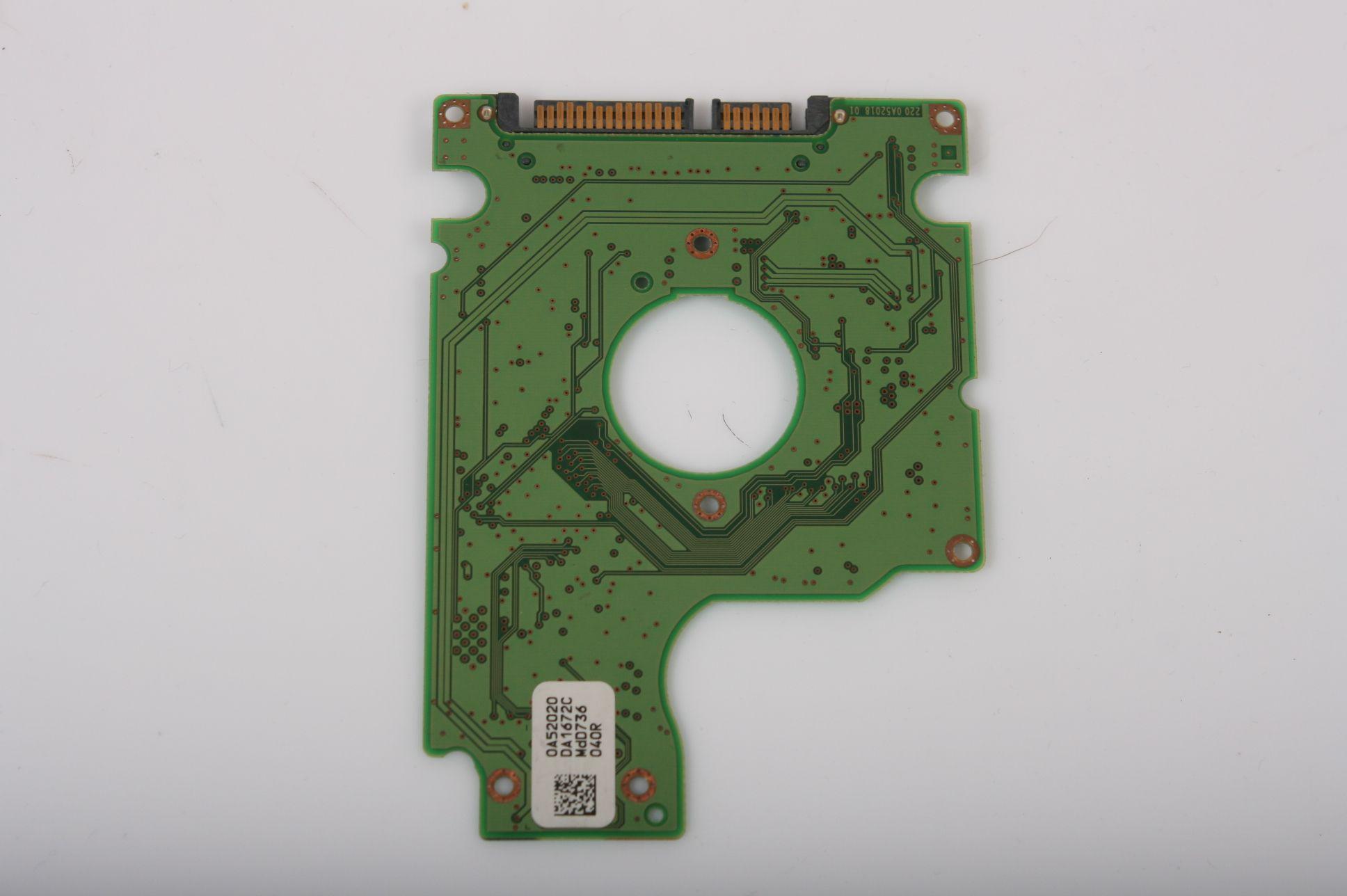 HITACHI HTS541612J9SA00 120GB 2,5 SATA HARD DRIVE / PCB (CIRCUIT BOARD) ONLY FOR DATA