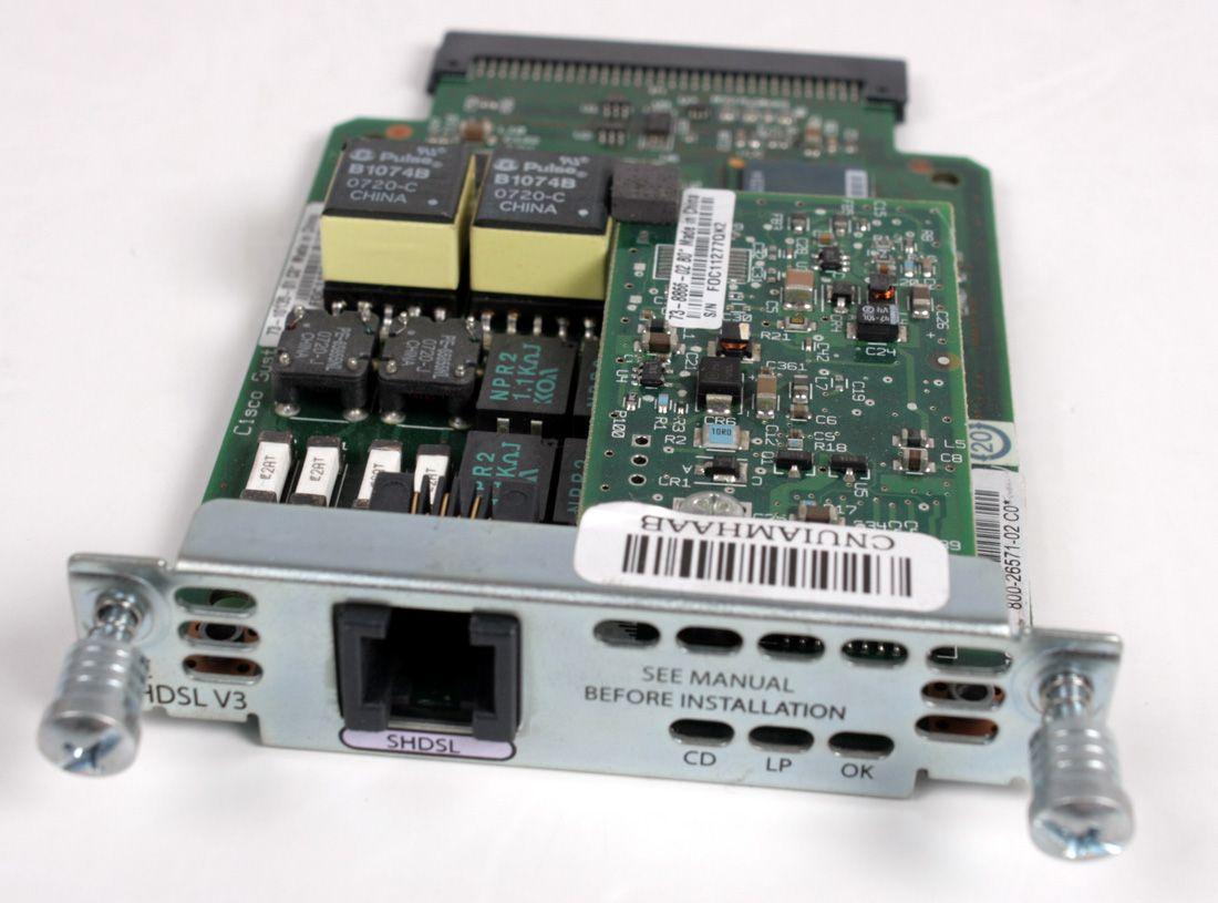 CISCO WIC-1-SHDSL-V3 Wan Interface Card 73-10135-01