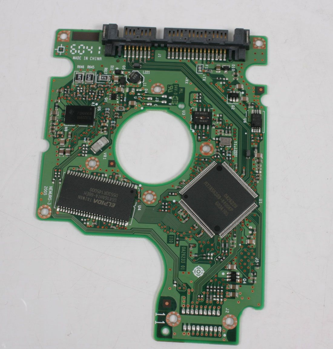 HITACHI HTS721010G9SA00 100GB SATA 2,5 HARD DRIVE / PCB (CIRCUIT BOARD) ONLY FOR DATA