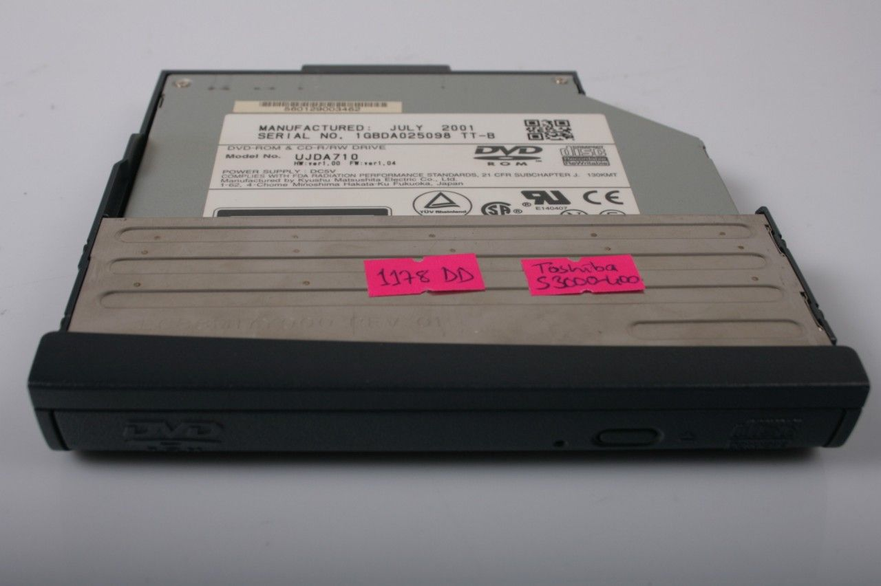TOSHIBA Satellite S3000-400 CD-Rw DVD-Rom UJDA710