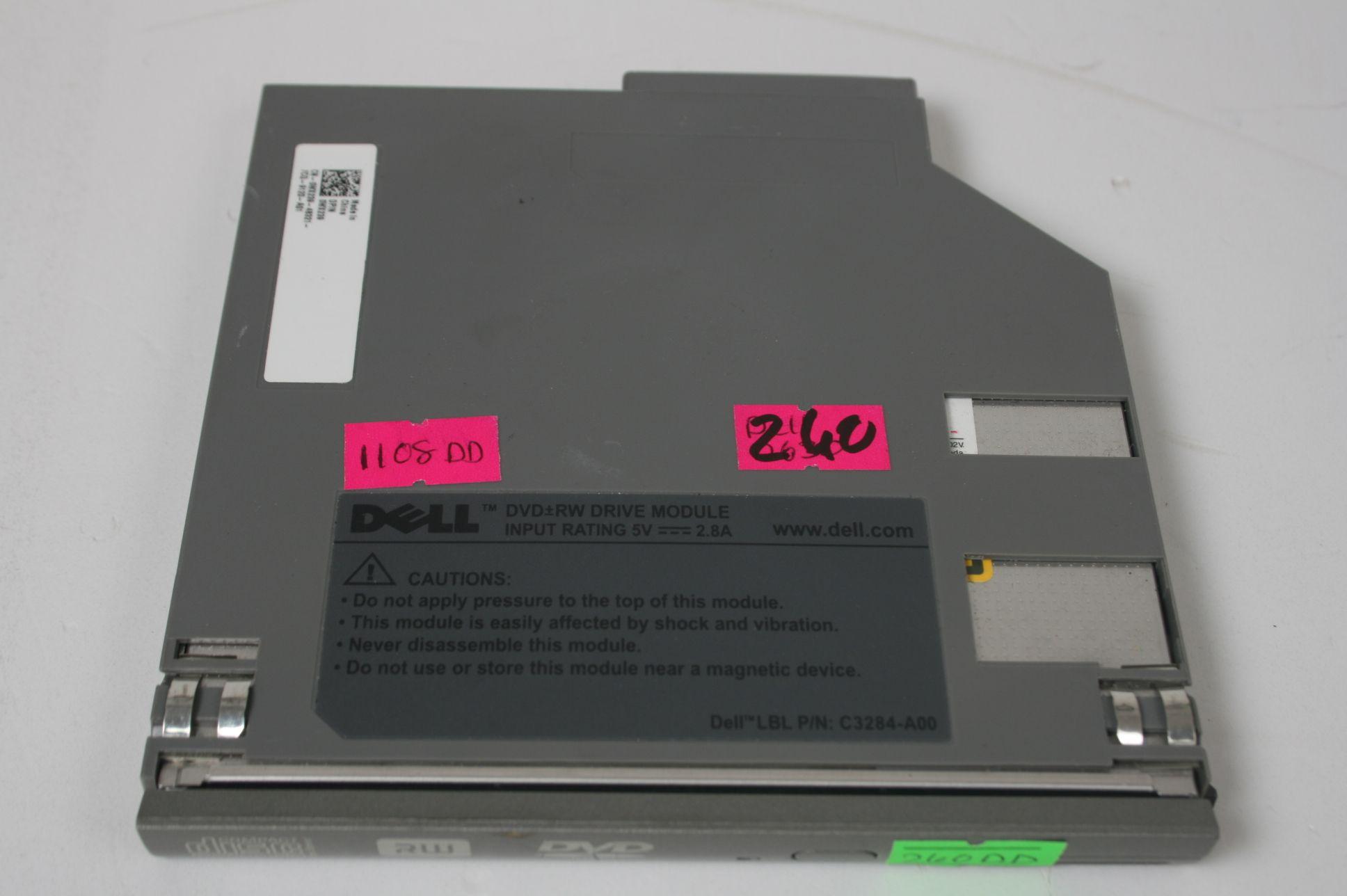 Dell Latitude D620 D630 DVD-RW Drive CN-0WX239