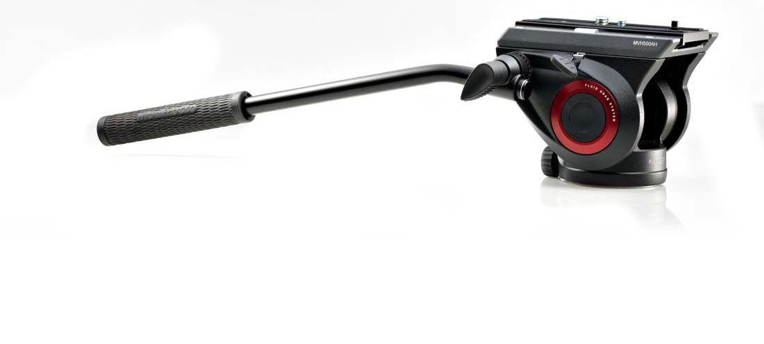 Manfrotto MVH500AH Lightweight Fluid Video Head w/ Flat Base