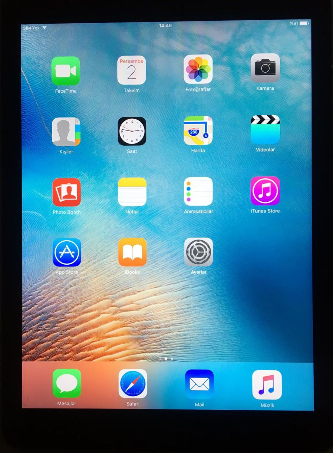Apple IPad AIR 2 64GB Wifi + 4G Space Gray UNLOCKED